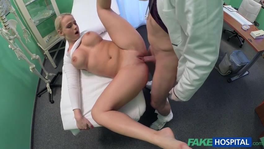 Pulsations! She Big boob nurse tubes