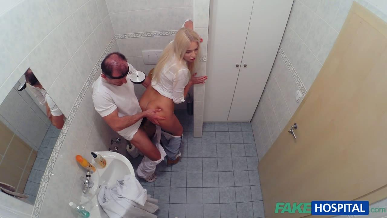 Fakehospital sexy horny nurse seduces patient 1