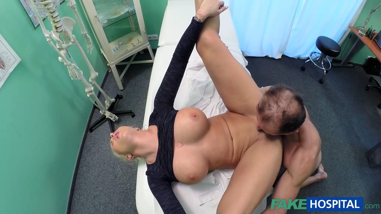 image Fakehospital hot brunette patient returns craving the doctor