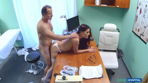 Fakehospital lucky patient is seduced by nurse and doctor 7